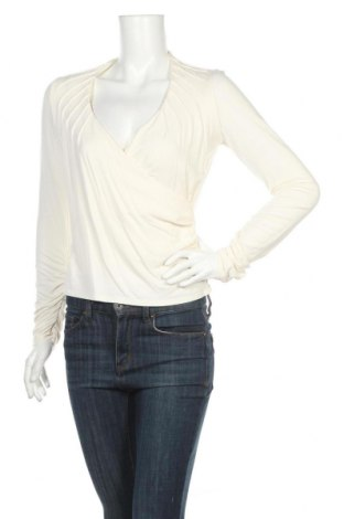 Дамска блуза Marks & Spencer Autograph, Размер M, Цвят Екрю, 92% модал, 8% еластан, Цена 13,65лв.