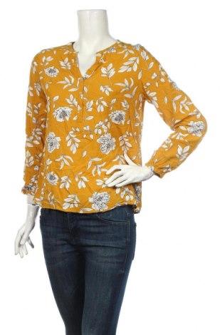 Дамска блуза S.Oliver, Размер M, Цвят Жълт, 100% вискоза, Цена 16,20лв.
