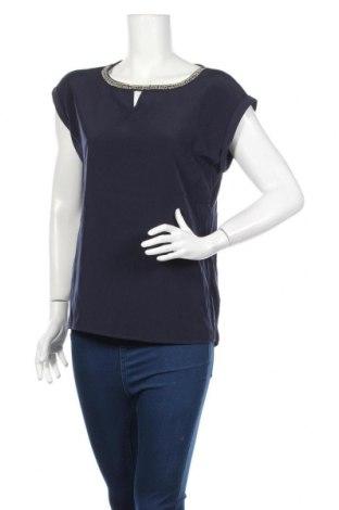Дамска блуза S.Oliver, Размер M, Цвят Син, Полиестер, вискоза, еластан, Цена 5,76лв.