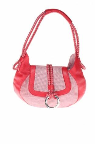 Γυναικεία τσάντα Bruno Magli, Χρώμα Κόκκινο, Γνήσιο δέρμα, κλωστοϋφαντουργικά προϊόντα, Τιμή 10,89€