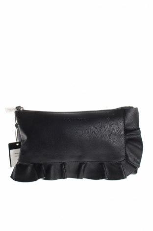 Γυναικεία τσάντα Comma,, Χρώμα Μαύρο, Δερματίνη, Τιμή 26,60€