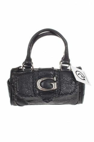 Γυναικεία τσάντα Guess, Χρώμα Μαύρο, Δερματίνη, Τιμή 22,78€