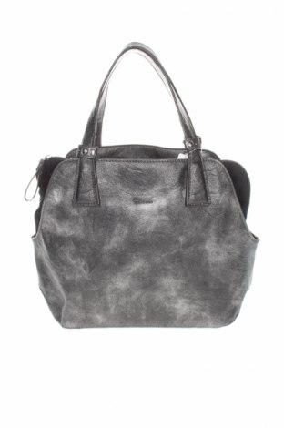 Γυναικεία τσάντα Tamaris, Χρώμα Γκρί, Δερματίνη, Τιμή 13,74€