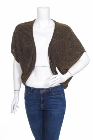 Дамска жилетка Pull&Bear, Размер M, Цвят Златист, Цена 5,98лв.