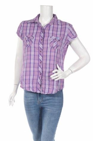 Дамска риза, Размер M, Цвят Лилав, Памук, Цена 6,00лв.