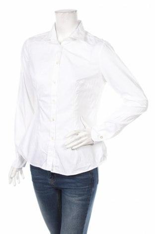 Дамска риза Barba, Размер XL, Цвят Бял, Памук, Цена 47,60лв.
