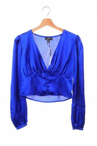 Cămașă de femei Lola Skye, Mărime XS, Culoare Albastru, Poliester, Preț 64,42 Lei