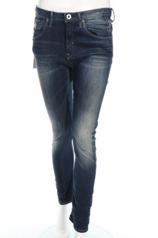 Дамски дънки G-Star Raw, Размер S, Цвят Син, 92% памук, 6% полиестер, 2% еластан, Цена 41,08лв.