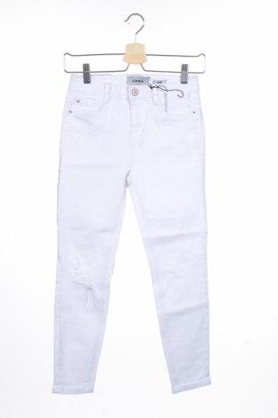 Blugi de femei New Look, Mărime S, Culoare Alb, 99% bumbac, 1% elastan, Preț 77,37 Lei