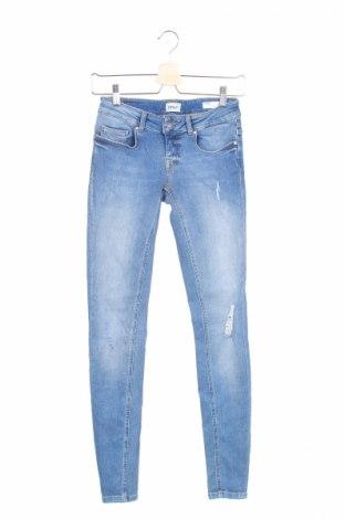 Damskie jeansy Only, Rozmiar S, Kolor Niebieski, 94% bawełna, 4% poliester, 2% elastyna, Cena 32,41zł