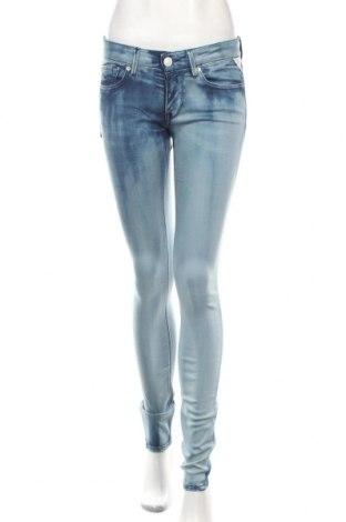 Dámské džíny  Replay, Rozměr M, Barva Modrá, 46% bavlna, 46% modal, 6% polyester, 2% elastan, Cena  778,00Kč