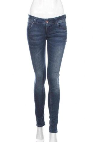 Blugi de femei Tom Tailor, Mărime S, Culoare Albastru, 98% bumbac, 2% elastan, Preț 130,74 Lei