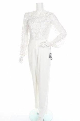 Дамски гащеризон Adrianna Papell, Размер M, Цвят Бял, Полиестер, Цена 115,42лв.