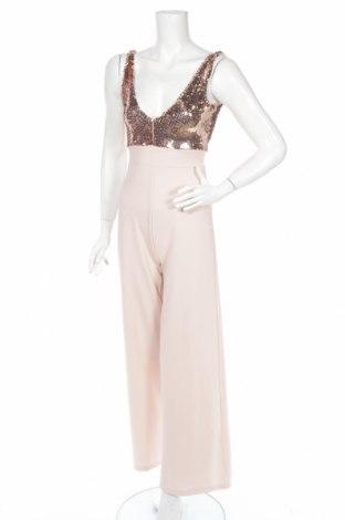 Salopetă de femei New Look, Mărime XS, Culoare Roz, 95% poliester, 5% elastan, Preț 158,42 Lei