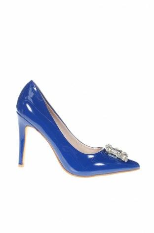 Γυναικεία παπούτσια Emella, Μέγεθος 39, Χρώμα Μπλέ, Δερματίνη, Τιμή 21,29€