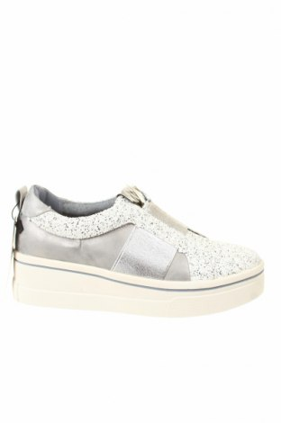 Γυναικεία παπούτσια Maria Mare, Μέγεθος 36, Χρώμα Ασημί, Δερματίνη, κλωστοϋφαντουργικά προϊόντα, Τιμή 12,37€
