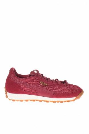 Γυναικεία παπούτσια PUMA, Μέγεθος 37, Χρώμα Κόκκινο, Φυσικό σουέτ, κλωστοϋφαντουργικά προϊόντα, Τιμή 32,23€