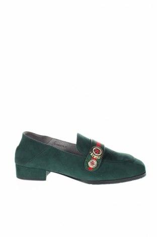 Γυναικεία παπούτσια Xyxyx, Μέγεθος 36, Χρώμα Πράσινο, Κλωστοϋφαντουργικά προϊόντα, Τιμή 7,48€