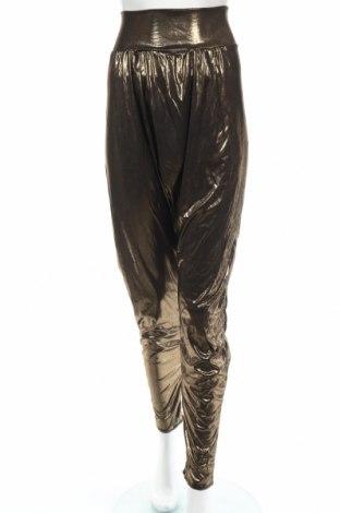 Női nadrág, Méret XL, Szín Arany , 93% poliészter, 7% elasztán, Ár 2880 Ft