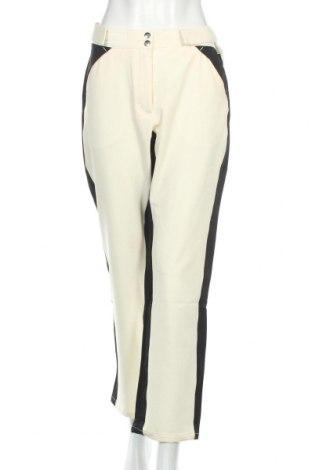 Дамски панталон Bpc Bonprix Collection, Размер M, Цвят Бежов, 90% полиамид, 10% еластан, Цена 32,20лв.