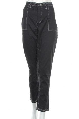 Дамски панталон Bpc Bonprix Collection, Размер L, Цвят Черен, 97% памук, 3% еластан, Цена 32,20лв.