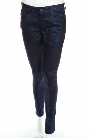 Дамски панталон Cache Cache, Размер L, Цвят Син, 77% памук, 21% полиестер, 2% еластан, Цена 15,60лв.