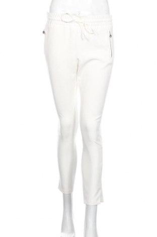 Дамски панталон Le Temps Des Cerises, Размер S, Цвят Бял, 88% полиестер, 12% еластан, Цена 27,20лв.