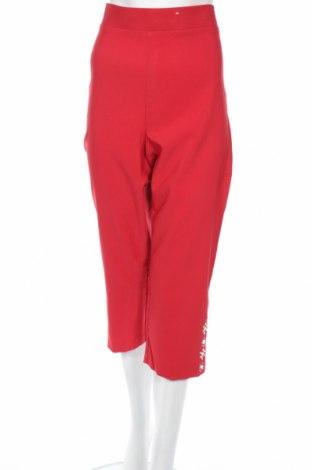 Női nadrág Millers, Méret XL, Szín Piros, 85% poliészter, 11% viszkóz, 4% elasztán, Ár 2760 Ft