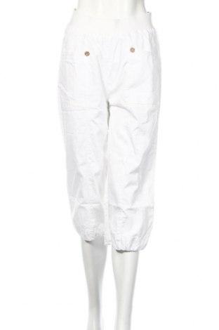 Дамски панталон Rainbow, Размер XS, Цвят Бял, Памук, Цена 5,72лв.