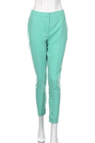 Dámské kalhoty  Selected Femme, Rozměr M, Barva Zelená, 66% polyester, 33% viskóza, 2% elastan, Cena  824,00Kč