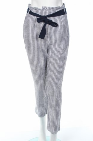 Pantaloni de femei Vila, Mărime M, Culoare Albastru, 55% in, 45% viscoză, Preț 105,00 Lei