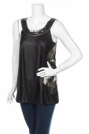 Дамски потник Andy Warhol By Pepe Jeans, Размер S, Цвят Черен, Полиестер, Цена 12,36лв.