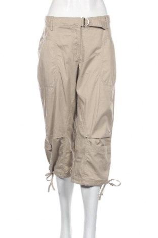 Дамски спортен панталон Vs, Размер L, Цвят Бежов, Памук, Цена 5,78лв.