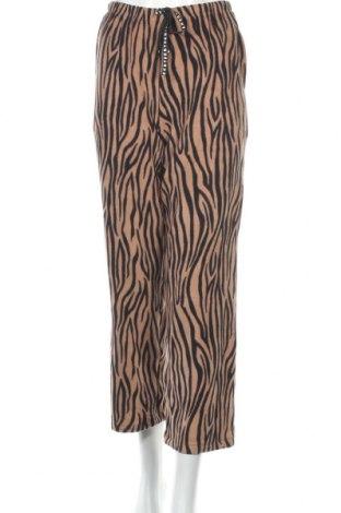Pantaloni trening de femei DKNY, Mărime XS, Culoare Maro, 94% poliester, 6% elastan, Preț 175,00 Lei