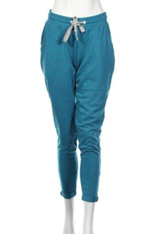 Γυναικείο μπουφάν αθλητικό Bpc Bonprix Collection, Μέγεθος M, Χρώμα Μπλέ, 60% βαμβάκι, 40% πολυεστέρας, Τιμή 11,54€
