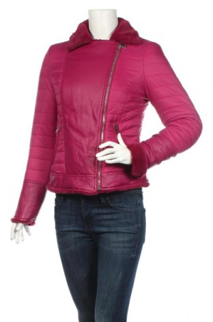 Γυναικείο μπουφάν Guess, Μέγεθος S, Χρώμα Βιολετί, Πολυαμίδη, Τιμή 76,73€