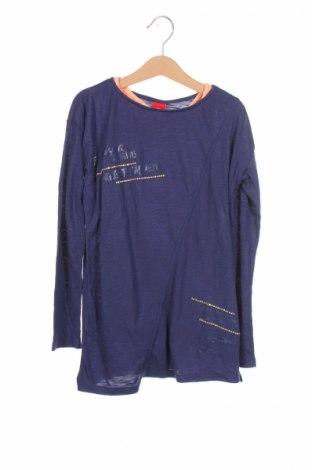 Детска блуза S.Oliver, Размер 8-9y/ 134-140 см, Цвят Син, 50% полиестер, 50% вискоза, Цена 31,50лв.