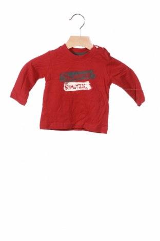 Детска блуза Tom Tailor, Размер 2-3m/ 56-62 см, Цвят Червен, Памук, Цена 3,90лв.