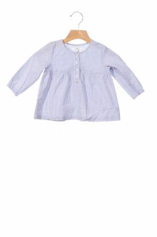 Детска блуза Tom Tailor, Размер 6-9m/ 68-74 см, Цвят Син, Цена 24,00лв.
