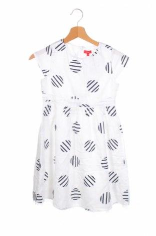 Детска рокля S.Oliver, Размер 9-10y/ 140-146 см, Цвят Бял, Полиамид, Цена 69,00лв.