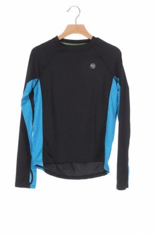 Παιδική μπλούζα αθλητική, Μέγεθος 13-14y/ 164-168 εκ., Χρώμα Μαύρο, 92% πολυαμίδη, 8% ελαστάνη, Τιμή 2,84€
