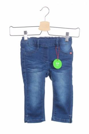 Детски дънки S.Oliver, Размер 6-7y/ 122-128 см, Цвят Син, 74% памук, 24% полиестер, 2% еластан, Цена 44,25лв.