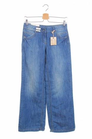 Детски дънки Tom Tailor, Размер 12-13y/ 158-164 см, Цвят Син, 70% памук, 30% еластан, Цена 11,96лв.