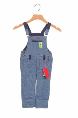 Salopetă pentru copii. S.Oliver, Mărime 9-12m/ 74-80 cm, Culoare Albastru, 97% bumbac, 3% elastan, Preț 85,90 Lei