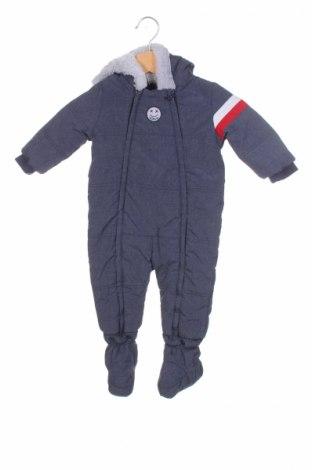 Детски космонавт S.Oliver, Размер 6-9m/ 68-74 см, Цвят Син, 65% полиамид, 35% полиестер, Цена 86,00лв.