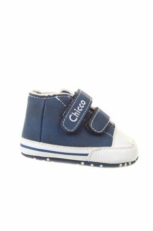 Παιδικά παπούτσια Chicco, Μέγεθος 16, Χρώμα Μπλέ, Κλωστοϋφαντουργικά προϊόντα, Τιμή 13,36€
