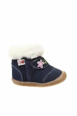 Детски обувки Rose et Chocolat, Размер 19, Цвят Син, Естествена кожа, Цена 57,67лв.