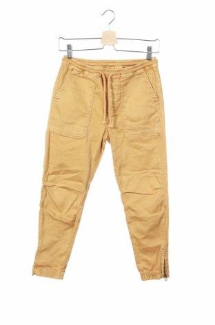 Детски панталон, Размер 11-12y/ 152-158 см, Цвят Жълт, Цена 24,20лв.