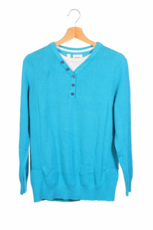 Детски пуловер Bpc Bonprix Collection, Размер 14-15y/ 168-170 см, Цвят Син, 100% памук, Цена 15,20лв.