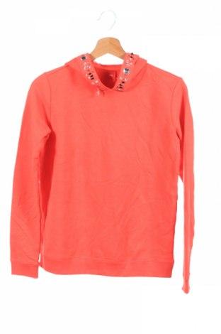 Детски суичър S.Oliver, Размер 13-14y/ 164-168 см, Цвят Оранжев, 85% памук, 15% полиестер, Цена 48,00лв.